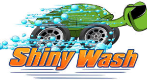 logo shiny wash